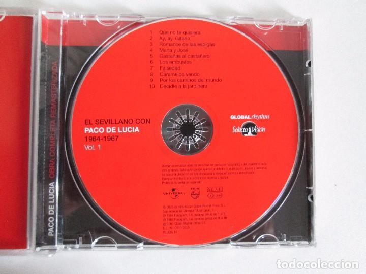 CDs de Música: LOS CHIQUITOS DE ALGECIRAS. CANTE FLAMENCO TRADICIONAL. PEPE DE ALGECIRAS. PACO DE LUCIA. 6 CD´S. - Foto 20 - 93118120