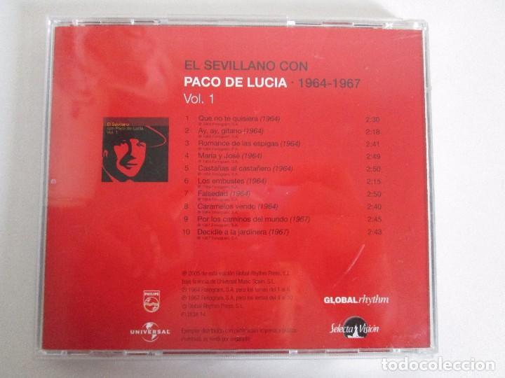 CDs de Música: LOS CHIQUITOS DE ALGECIRAS. CANTE FLAMENCO TRADICIONAL. PEPE DE ALGECIRAS. PACO DE LUCIA. 6 CD´S. - Foto 21 - 93118120
