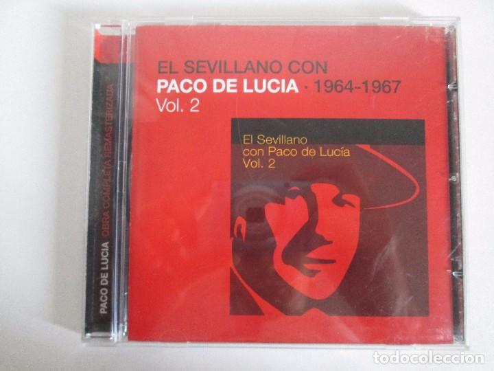 CDs de Música: LOS CHIQUITOS DE ALGECIRAS. CANTE FLAMENCO TRADICIONAL. PEPE DE ALGECIRAS. PACO DE LUCIA. 6 CD´S. - Foto 22 - 93118120