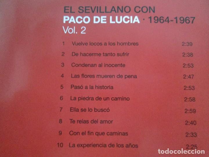 CDs de Música: LOS CHIQUITOS DE ALGECIRAS. CANTE FLAMENCO TRADICIONAL. PEPE DE ALGECIRAS. PACO DE LUCIA. 6 CD´S. - Foto 23 - 93118120