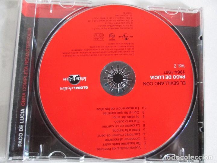 CDs de Música: LOS CHIQUITOS DE ALGECIRAS. CANTE FLAMENCO TRADICIONAL. PEPE DE ALGECIRAS. PACO DE LUCIA. 6 CD´S. - Foto 24 - 93118120
