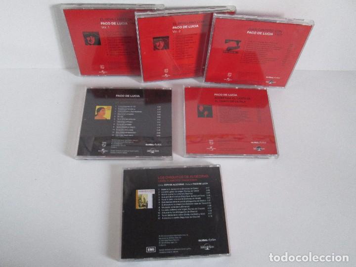 CDs de Música: LOS CHIQUITOS DE ALGECIRAS. CANTE FLAMENCO TRADICIONAL. PEPE DE ALGECIRAS. PACO DE LUCIA. 6 CD´S. - Foto 26 - 93118120