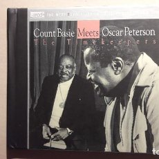 CDs de Música: COUNT BASIE MEETS OSCAR PETERSON. THE TIMEKEEPERS. XRCD JVC.. Lote 93118980