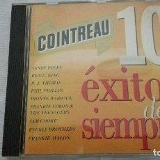 CDs de Música: 41-CD COINTREAU, 10 EXITOS DE SIEMPRE, . Lote 93123675