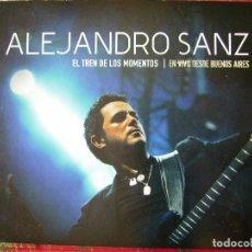 CDs de Música: ALEJANDRO SANZ.EL TREN DE LOS MOMENTOS...EN VIVO DESDE BUENOS AIRES...CD + DVD. Lote 106677619
