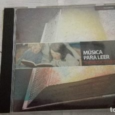 CDs de Música: 28-CD THEMUSICOTHEQUE, MUSICA PARA LEER. Lote 93157435