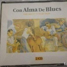CDs de Música: 36-CD CON ALMA DE BLUES, THE BLUES COLLECTION, 2 CDS, 1995. Lote 93158325