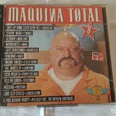 CDs de Música: 21-MAQUINA TOTAL 8, 2 CDS, 1995. Lote 93163685
