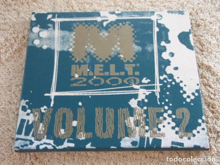 CDs de Música: M.E.L.T. 2000 VOLUME 2 ( VARIOS; ELECTRONIC,REGGAE,TRIBAL,PROGRESSIVE TRANCE) ENGLAND-2000 B&W MUSIC - Foto 2 - 93185260