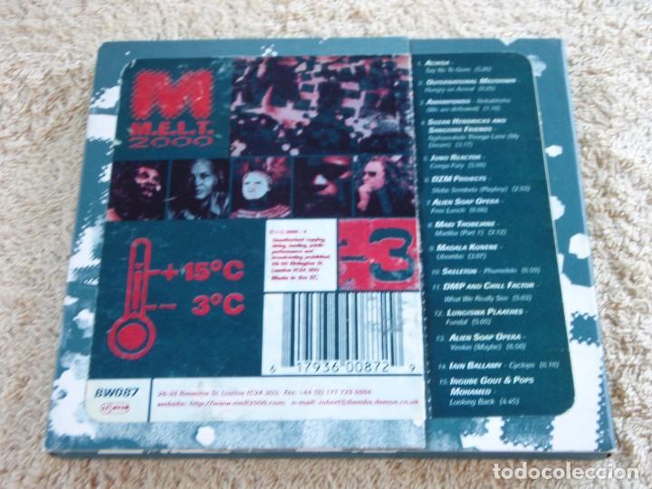CDs de Música: M.E.L.T. 2000 VOLUME 2 ( VARIOS; ELECTRONIC,REGGAE,TRIBAL,PROGRESSIVE TRANCE) ENGLAND-2000 B&W MUSIC - Foto 3 - 93185260