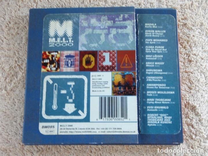 CDs de Música: M.E.L.T. 2000 VOLUME 1 (VARIOS; JAZZ,LATIN,FOLK,WORLD & COUNTRY ) ENGLAND-1997 B&W MUSIC - Foto 3 - 93187245