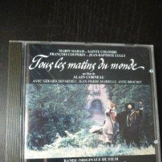 CDs de Música: TOUS LES MATING DU MONDE. MARAIS. COLOMBE. COUPERIN. ALAIN CORNEAU. VALOIS. 1991. Lote 93197520