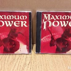CDs de Música: MAXIMUM POWER. VOL 1 Y 2 / 2 X DOBLE CD / INSIGHI - POLY GRAM / MUY BUENA CALIDAD.. Lote 93343870