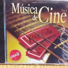 CDs de Música: MÚSICA DE CINE. VOL 1. PROMO CD-COCA COLA-TANIT MUSIC. 8 TEMAS / PRECINTADO.. Lote 93367945