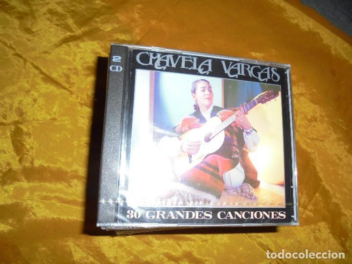 CHAVELA VARGAS. 30 GRANDES CANCIONES. 2 CD´ S . SONY MUSIC 1993. PRECINTADO (Música - CD's Latina)