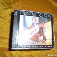 CDs de Música: CHAVELA VARGAS. 30 GRANDES CANCIONES. 2 CD´ S . SONY MUSIC 1993. PRECINTADO(#). Lote 93605830