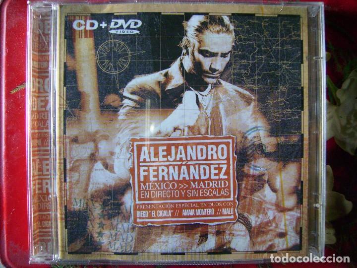 ALEJANDRO FERNANDEZ.MEXICO-MADRID...CD + DVD (Música - CD's Latina)