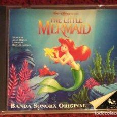 CDs de Música: B.S.O. LA SIRENITA - THE LITTLE MERMAID - CD 1994 EDICIÓN ESPAÑOLA. Lote 93617035