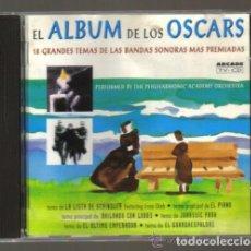 CDs de Música: CD - ALBUM DE LOS OSCARS - 18 TEMAS DE PELICULAS CON BANDAS SONORAS MAS PREMIADAS . Lote 93651540