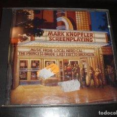 CDs de Música: CD MARK KNOPFLER SCREEPLAYING. Lote 93708985