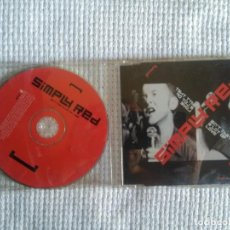 CDs de Música: SIMPLY RED - '' AIN'T THAT A LOT OF LOVE '' CD SINGLE + VIDEO 1999 UK. Lote 93765375