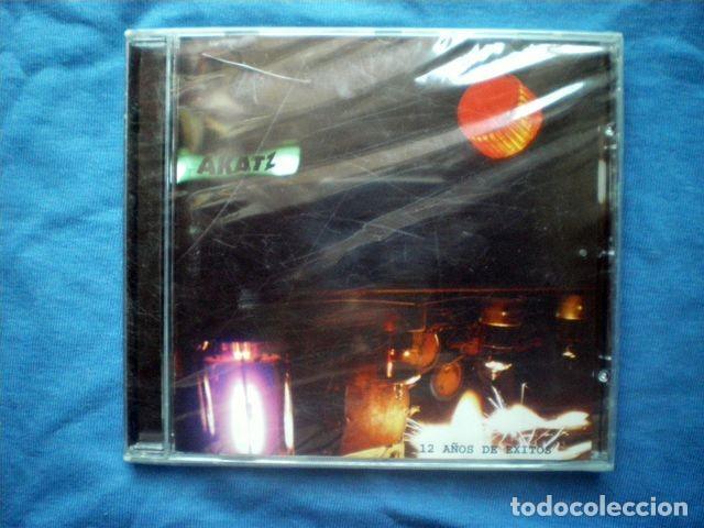 CD AKATZ - 12 AÑOS DE EXITOS - BRIXTON RECORDS 2005 PRECINTADO (Música - CD's Reggae)