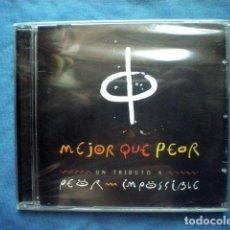 CDs de Música: CD MEJOR QUE PEOR UN TRIBUTO A PEOR IMPOSIBLE - SUBTERFUGE 2005 PRECITNADO. Lote 93794830