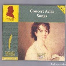 CDs de Musique: MOZART - CONCERT ARIAS SONGS (8CD BOX, BRILLANT CLASSICS 99731, VOLUME 24). Lote 93800115