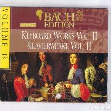 CDs de Música: BACH - KEYBOARD WORKS VOL.II / KLAVIERWERKE VOL.II (SET 12CD BRILLANT CLASSICS 99372, VOLUME 13). Lote 93831230