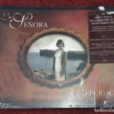 CDs de Música: DE LA SEÑORA A REPUBLICA (MÚSICA ORIGINAL DE LA SERIE) LIBRO + 3 CD'S 2010. Lote 93837120