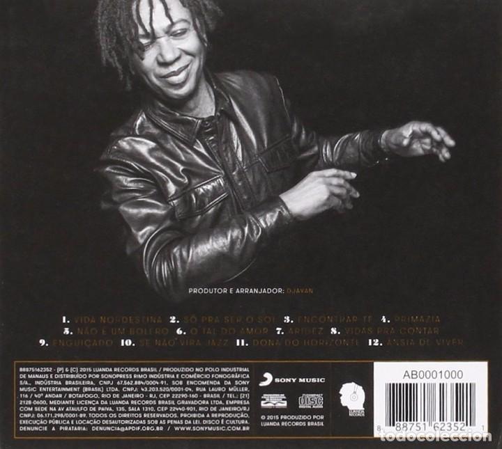 CDs de Música: Djavan - Vidas Pra Contar - CD Digipack - Foto 2 - 93837810