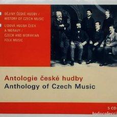 CDs de Música: ANTOLOGÍA DE LA MÚSICA CHECA 5 CDS. Lote 93850845
