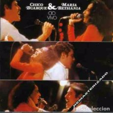 CDs de Música: CHICO BUARQUE & MARIA BETHANIA AO VIVO - CD . Lote 93858900