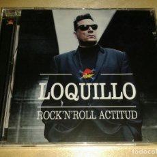 CDs de Música: LOQUILLO - ROCK'N'ROLL ACTITUD - EDICIÓN LIMITADA MÉXICO - PRECINTADO. Lote 154091721