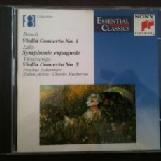 CDs de Música: BRUCH-LALO-VIEUXTEMPS. Lote 93904485