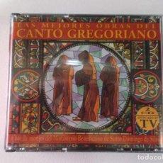CDs de Música: CANTO GREGORIANO LAS MEJORES OBRAS -. MONJES DE SANTO DOMINGO DE SILOS - 2 CDS. Lote 93921155