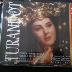 CDs de Música: 2CD,PUCCINI,TURANDOT. Lote 93921260