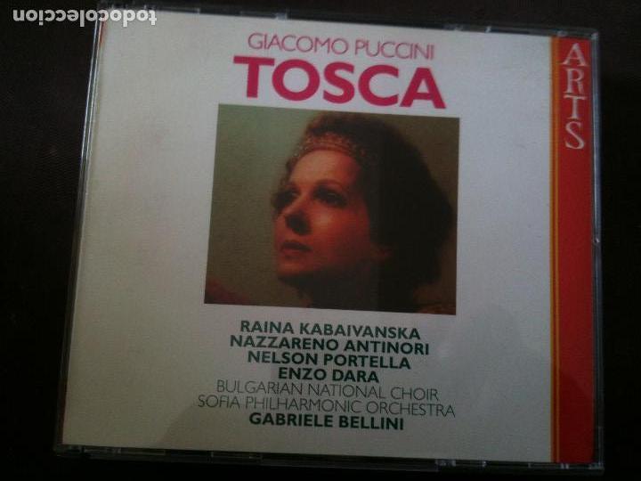 2CD,GIACOMO PUCCINI-TOSCA (Música - CD's Clásica, Ópera, Zarzuela y Marchas)
