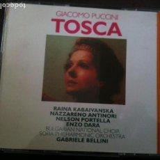 CDs de Música: 2CD,GIACOMO PUCCINI-TOSCA. Lote 93921355