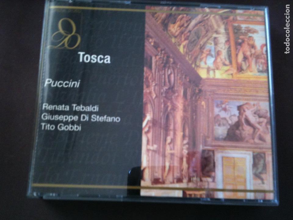 2 CD,PUCCINI-TOSCA (Música - CD's Clásica, Ópera, Zarzuela y Marchas)