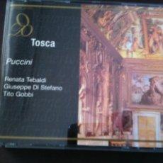 CDs de Música: 2 CD,PUCCINI-TOSCA. Lote 93923110