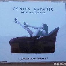 CDs de Música: MONICA NARANJO - PANTERA EN LIBERTAD (APOLLO 440 REMIX) - CD MAXI - AÑO 1997 - EXCELENTE ESTADO. Lote 93930620