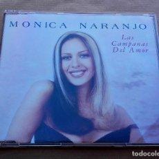 CDs de Música: MÓNICA NARANJO - LAS CAMPANAS DEL AMOR - CD MAXI - AÑO 1998 - EXCELENTE ESTADO. Lote 93931015