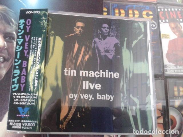 DAVID BOWIE TIN MACHINE [LIVE] OY VEY, BABY - EDICIÓN JAPONESA 1992 VICP-5193 (Música - CD's Rock)