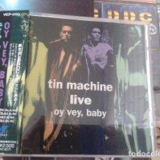 CDs de Música: DAVID BOWIE TIN MACHINE [LIVE] OY VEY, BABY - EDICIÓN JAPONESA 1992 VICP-5193. Lote 93939820