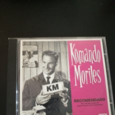 CDs de Música: KOMANDO MORILES RECOMENDADO POR 28 DE CADA 27 FABRICANTES DE LAVADORAS . TRALLA RECORDS .. Lote 93946784