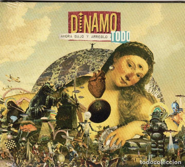 DINAMO - AHORA BAJO Y ARREGLO TODO (Música - CD's Rock)