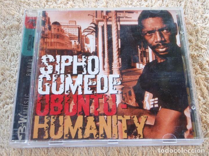 SIPHO GUMEDE ( UBUNTU-HUMANITY ) ENGLAND-1996 B+W MUSIC ESTILO AFROBEAT (Música - CD's Country y Folk)