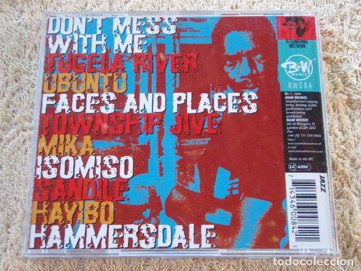 CDs de Música: SIPHO GUMEDE ( UBUNTU-HUMANITY ) ENGLAND-1996 B+W MUSIC ESTILO AFROBEAT - Foto 2 - 94004690