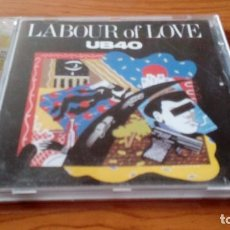 CDs de Música: UB40 - LABOUR OF LOVE. Lote 94010320